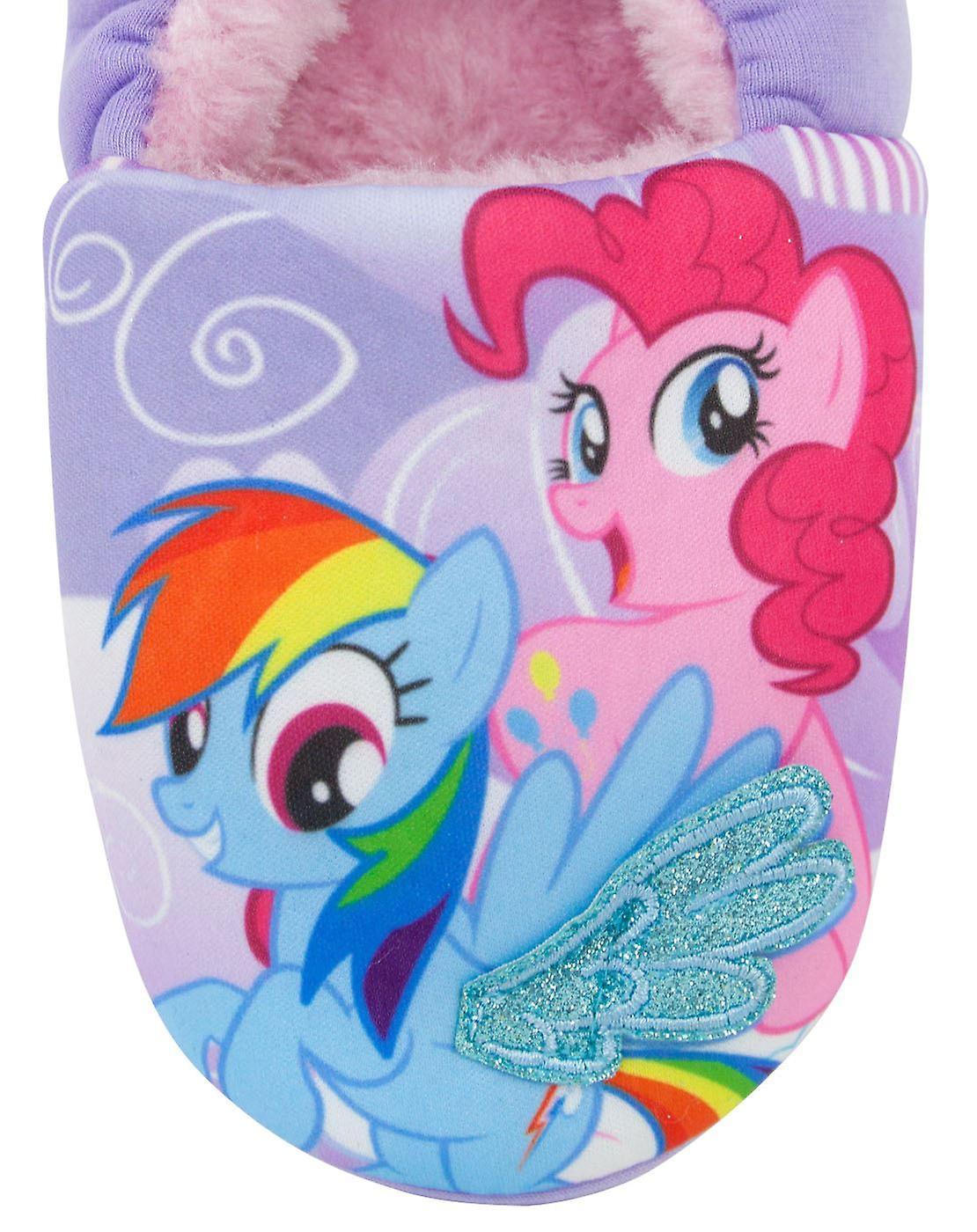 My Little Pony Pony Pals Purple Girl's Slippers - Gratis verzending Vy3exP