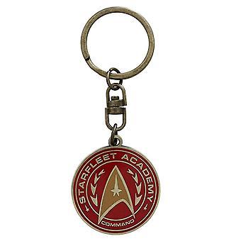 Star Trek Starfleet Academy Logo Metal Keyring