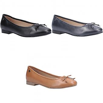 Hush Puppies Donne/Signore Naomi Slip On Leather Ballet Pump