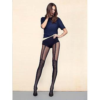 Fiore Spice Up Mock Suspender Tights