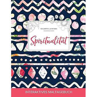 Maltagebuch fr Erwachsene Spiritualitt Schildkrten Illustrationen Tribalblumen by Wegner & Courtney
