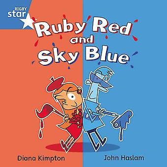 Rigby Star Independent Blue Reader 4 - Ruby Red and Sky Blue - 9780433