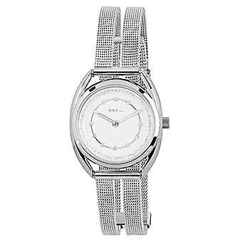 ברז קוורץ נשים שעון אנלוגי עם חגורת נירוסטה TW1652