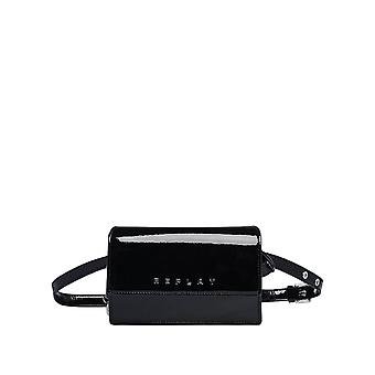 Replay Frauen's Shiny Effect Taille Tasche 19Cm