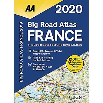 AA Big Road Atlas France 2020 - 9780749581381 Book