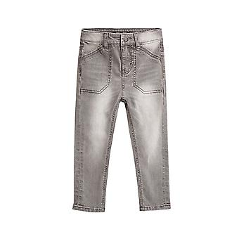 Esprit Boys' Washed-Out Jeans With Large Pockets