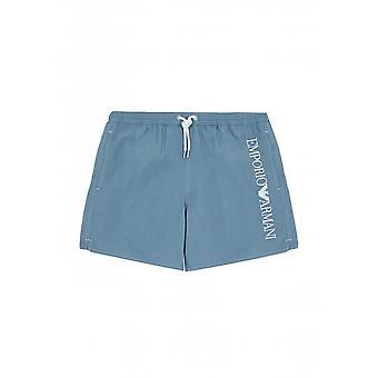 EA7 Men's Blue Swim Shorts