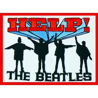 البيتلز التصحيح مساعدة! ألبوم باند الشعار الرسمي الجديد المنسوجة التصحيح (9cm × 8cm)