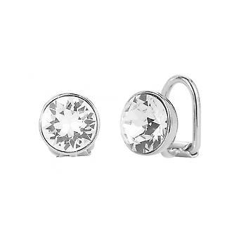 Reiziger clip Earring-rhodium plated-Swarovski Crystal-155991