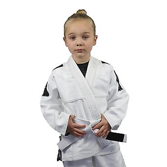 Fumetsu Kinder bester arktischen Camo Edition BJJ Gi weiß/grau