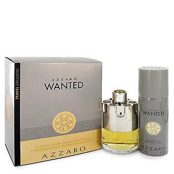 Azzaro Wanted coffret par Azzaro 3,4 oz eau de parfum Spray + 5,1 oz deodarant spray