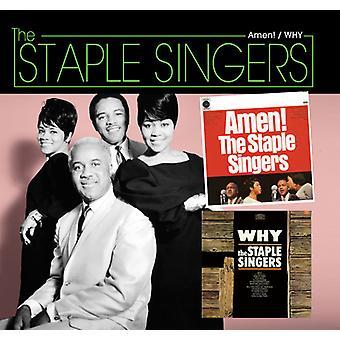 Staple Singers - Amen / Why [CD] USA import