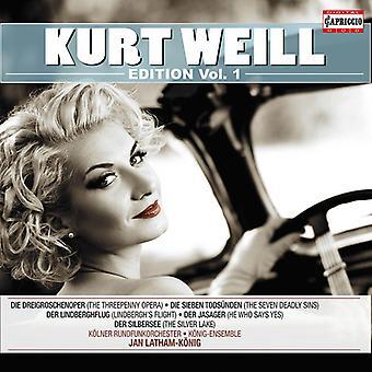 Weill / Bierett / Koenig Ensemble / Wdr Radio Sym - Edition 1 [CD] USA import