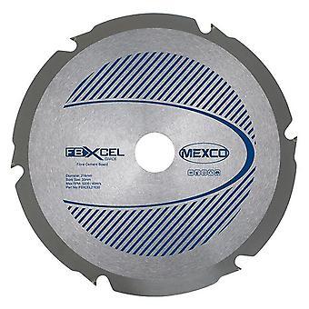 Mexco 216mm X 2,4 x X 6T Fibre Cement Board PCD Diamond Blade