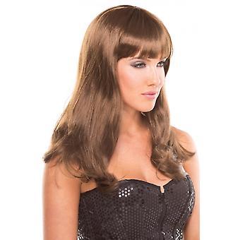 Pop Diva Wig - Brown