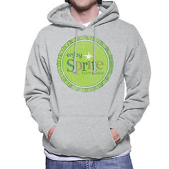 Genießen Sie Sprite 1960er-Jahre Green Bottlecap Men es Hooded Sweatshirt