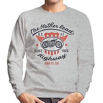 Route 66 The Mother Road Men's Sweatshirt