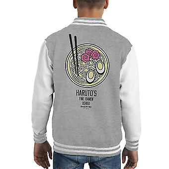 The Ramen Clothing Company Harutos Fine Ramen Colour Bowl Kid's Varsity Jacket