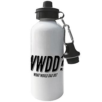 What Would Dad Do Aluminium Sports Water Bottle