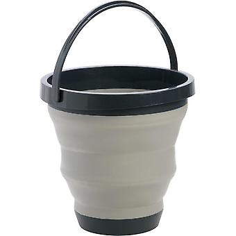 Portable And Folding Basin And Bucket With Hanging Holes