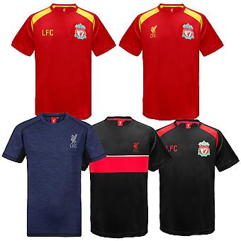 Liverpool FC offisielle fotball gave gutter poly trening kit t-skjorte