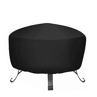 Waterproof heavy duty Oxford garden grill cover, furniture fireplace protection dust cover