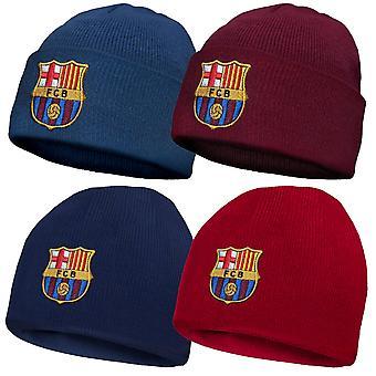 FC Barcelona Lasten hattu neulottu Bronx Beanie VIRALLINEN Jalkapallo Lahja