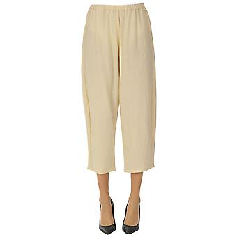 A.b. Ezgl492004 Women's Beige Wool Pants