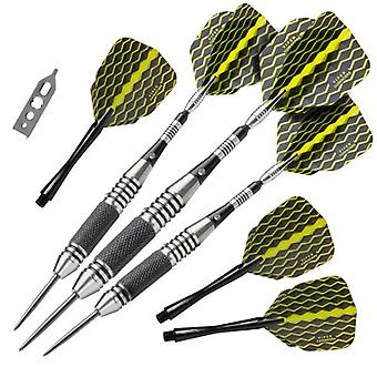22-1704-22, Viper The Freak Steel Tip Darts Knurled and Grooved Barrel 22 Grams