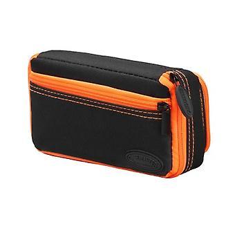 36-0701-09, Casemaster Plazma Plus Nero con custodia dardo rifinitura arancione e tasca del telefono