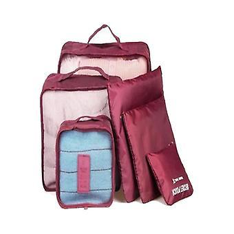 Bärbar resa bagage kläder butik väska arrangör
