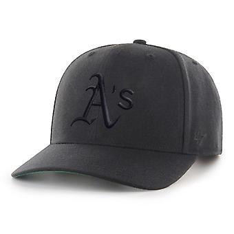 47 Brand Low Profile Cap - ZONE Oakland Athletics black