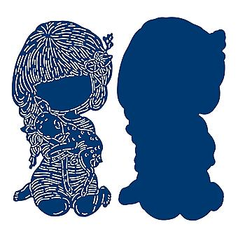 Tattered Lace Cuddly Friends Die Set