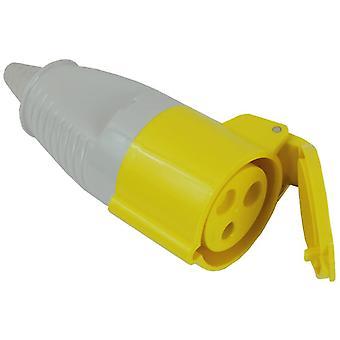 Faithfull Power Plus Yellow Socket 32 Amp 110 Volt FPPSOC32AMP