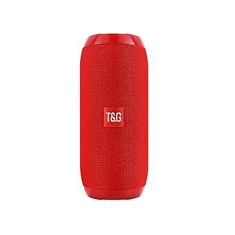 Wireless Bluetooth Speaker Supporter, Fm Radio Usb Aux Tf Hd Sound With Mic