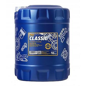 Mannol 10L Classic  Semi-Synthetic Engine Oil 10W-40 API SN/CH-4 Acea A3/B6