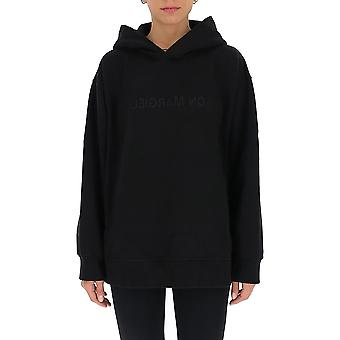Mm6 Maison Margiela S52gu0123s25337900 Women's Black Cotton Sweatshirt