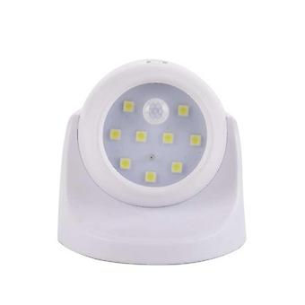 9 Lamp Beads Led Wall Lights, Motion Sensor Night Light With 360 Degree
