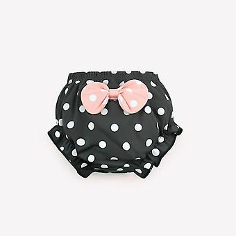 Toddler Underwear Cotton Baby Panties /- Infant Cute Big Bow Dots Shorts