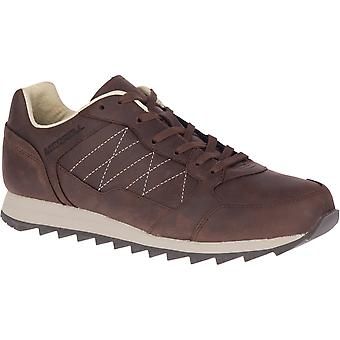 Merrell Mens Alpine Leather Sneaker