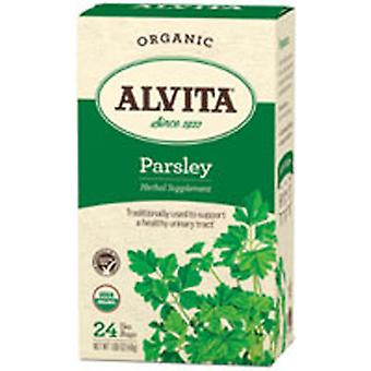 Alvita Teas Organic Herbal Tea, Parsley 24 BAGS