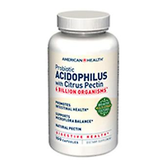 American Health Probiotic Acidophilus avec Citrus Pectine , 100 Caps