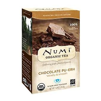 Numi Tea Puerh, Chocolate 16 bags