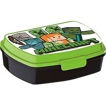Minecraft Creeper Alex Steve Skelett Lunchbox