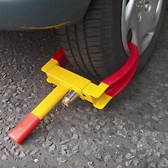 Wheel clamp caravan trailer car van security lock ? 2 keys supplied ? heavy duty