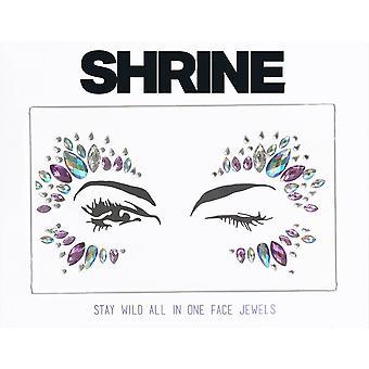 Shrine Individual Self Adhesive Face Jewel - Stay Wild