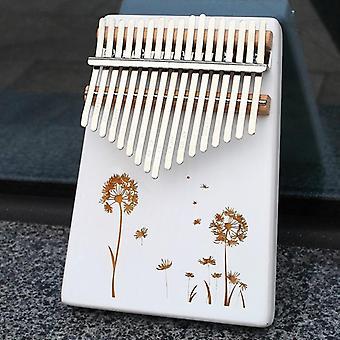 17 Metal Keys Kalimba Piano- Instrument de musique