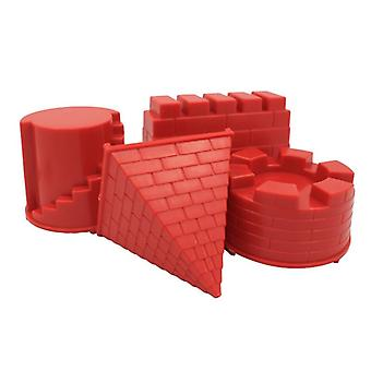 Baby Beach Sand -soft Rubber Dune Castle Mold Tools