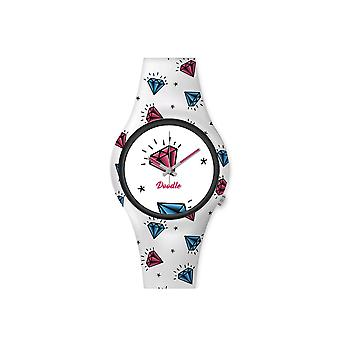 Women's Watch Doodle Americans Mood white dial - DO35003