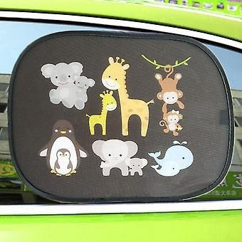 Creative Design Car Rear, And Side Window Sunshade Covers